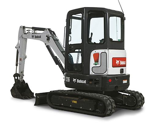 Bobcat Excavator – E26