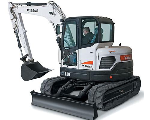 Bobcat Excavator- E80