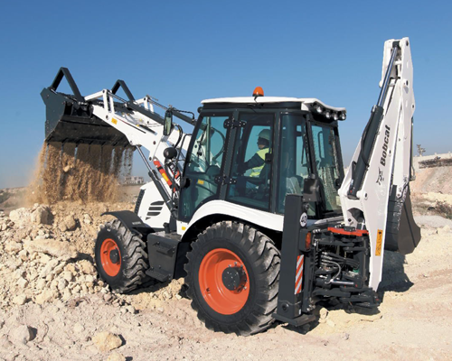 Bobcat Backhoe Loader- B570