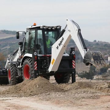 Bobcat-backhoe-loader