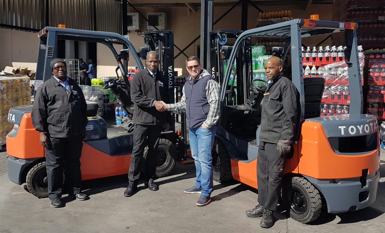 how to change the speed on a toyota forklift
